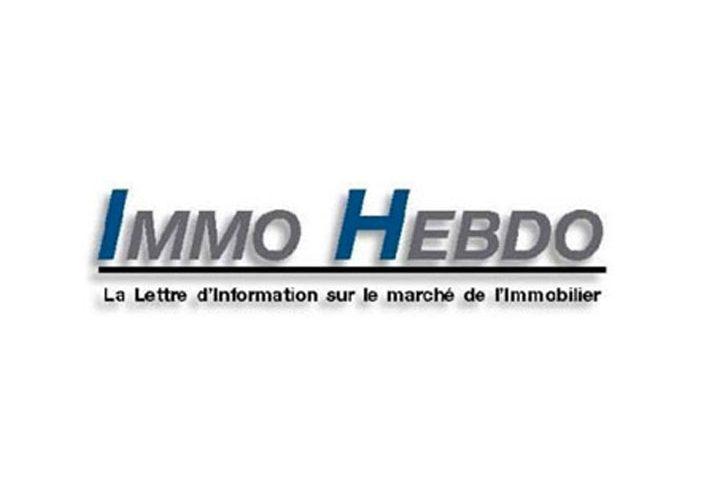 Logo de Immo Hebdo : la lettre d'information sur le marché de l'immobilier
