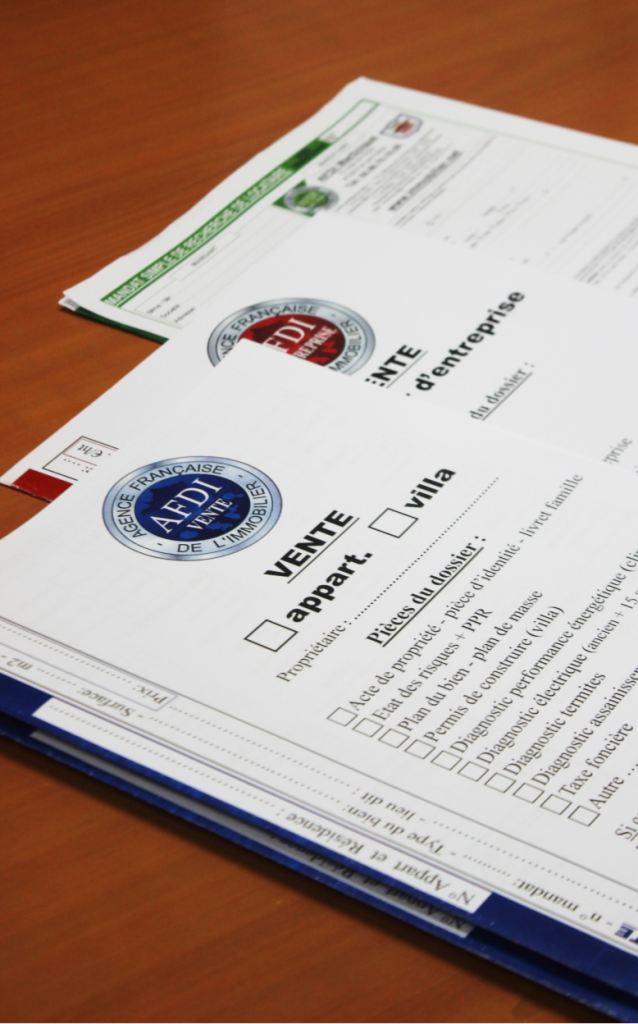 Contrats AFDI vente AFDI pro et AFDI location