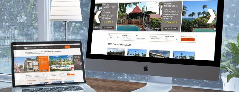 Nos sites Internet defiscalisation.com et immobilier.net
